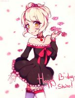 Gift~ Happy birthday to Shiro!!~ doodle by Hitomi-chy