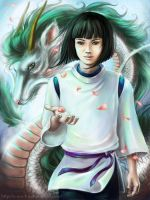 Spirited Away - Haku by n-a-S-t-u