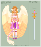 DC - Liana Reference Sheet by theRainbowOverlord