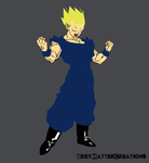 Ascended Saiyan by greymattercreations3