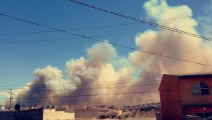 Officials say today's brush fires around San Diego by OgJimrock