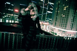 DRRR_sin city by hybridre