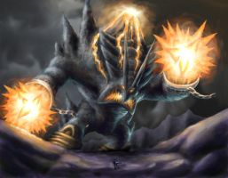 Fire colossus by H-GALLERY