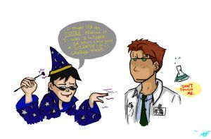 Magic+Science with Dick+Wally by ImNOToK557