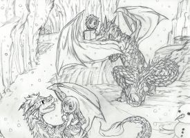 Merry Christmas WindTunnel67 -NaLuGaLe Dragon Play by Inubaki
