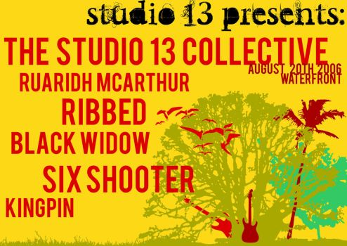 Studio 13 Mockup Poster by rattlehed