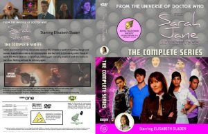 The Sarah Jane Adventures R2 DVD Cover multi-disc by DJToad