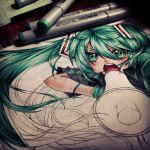 [WIP] Miku - Love is War by mintdesu