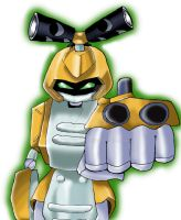 Medabots - Metabee by Minamonto
