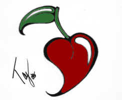 Cherry Heart? Colored by Tayeloquin