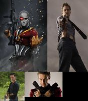 Deadshot Fan Cast by MexPirateRed