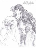 Naraku: in all his evilness... by MilleniumFoxMagician