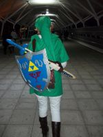 link cosplay - time to go home by DanteJackpot