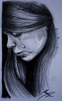 Crying girl by Lmk-Arts