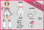 Mikan reference sheet by electrorobo