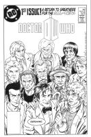 Doctor Who Justice League Style by ElfSong-Mat