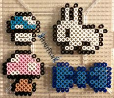 Simple Perlers by PerlerPixie