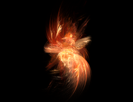 Phoenix fractal by mosquitone