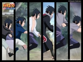Uchiha Sasuke - The path to darkness by Apostoll