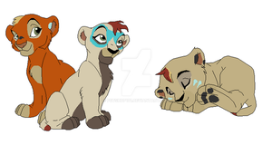 Cubs for Haloson by petshop101