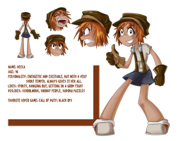 Becca Character Sheet by hnkkorgris