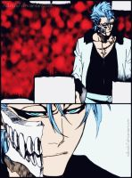 Grimmjow in Bleach 624 by nAvidx7