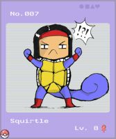 Squirtle by DeviantPersonality