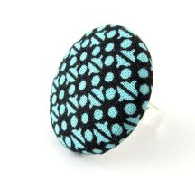 Large blue ring - dark blue marine light blue by KooKooCraft