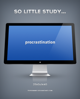 Procrastination. by TehShimmy