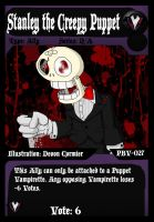 PBV - 027 - Stanley the Creepy Puppet by PlayboyVampire