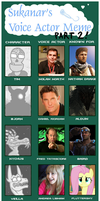 Voice Actor Meme II by DinoHunter2