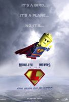 LegoMan Movie Poster v.2 by ryansd