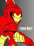 Digital Iron Man by BenjiPrice