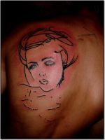 face by kama-tattoo