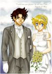 HSDK Kenichi X Miu the wedding by noodlemie
