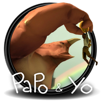 Papo And Yo Game Icon by Wr47h