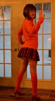 Velma Dinkley: Cosplay Test/WIP by HarleyTheSirenxoxo
