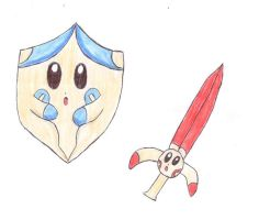 Plusle Minun - Sword Shield by Pikacshu