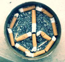 Cigarette Peace by AndroniX