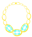 Cutie Mark Auction Blue Diamant Necklace [OPEN] by DelLyra
