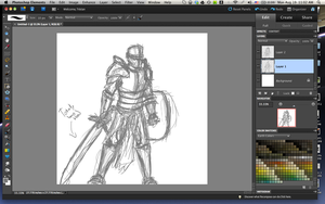 Heavy Knight WIP by ahandgesture