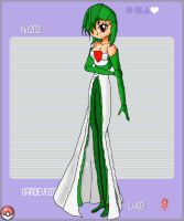 Gardevoir Gijinka submission by CinsaTalXenoMaker