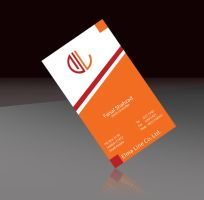 Elma Line Business Card by mansoorfarooqui