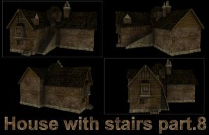 House with stairs part.8 by DennisH2010