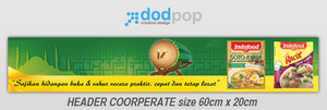 corporate header racik  Bi by dodpop