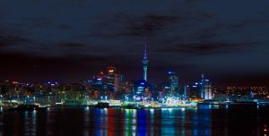 Auckland City at Night 2 by SadisticVeneer