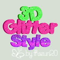 3D Glitter Styles by Sol by TheSun20