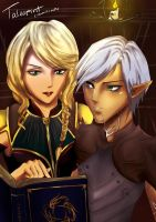 S.Commission- Fenris n Hawke by talespirit