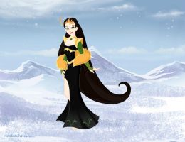 Snow-Queen Lady Loki 1 by neniths