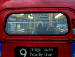 London Bus by LittleCamomille